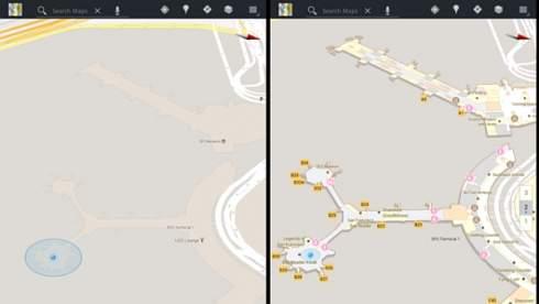 Google приступил к картографированию закрытых помещений: торговых центров, аэропортов, магазинов