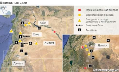 Франция поддержит США в операции в Сирии