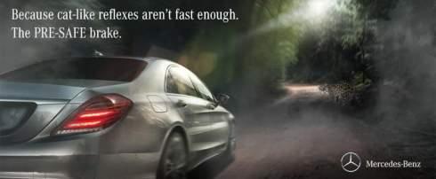 Компания Mercedes ответила на рекламу Jaguar