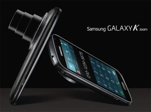 Samsung представил камерофон  Galaxy K Zoom