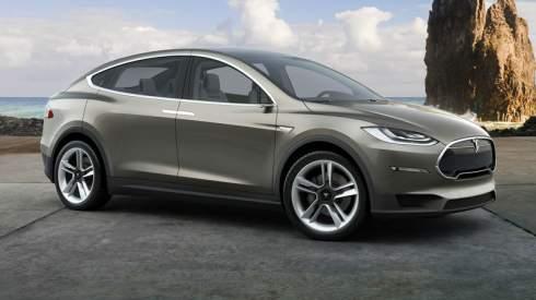 Кроссовер Tesla Model X дебютирует в сентябре