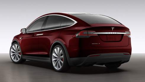 Кроссовер Tesla Model X рассекречен в конфигураторе