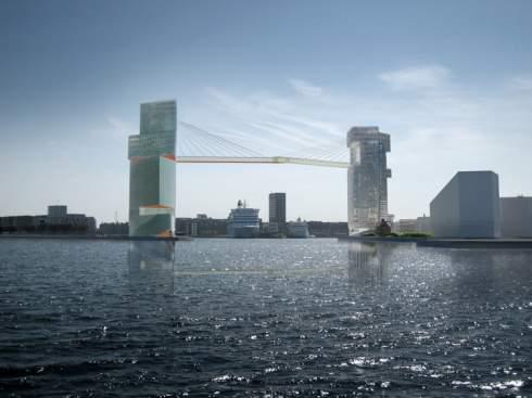 Дания построит велосипедную дорожку на высоте 65 метров