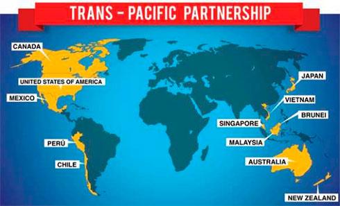 12 стран во главе с США подписали соглашение о торговом блоке