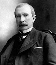 Джон Д.Рокфеллер создал себе состояние в компании Standard Oil, предшественнице ExxonMobil