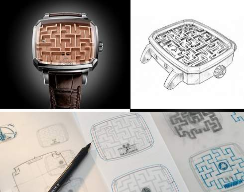 Часы-лабиринт от Hautlence за $12 000 не показывают время