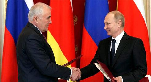 Южная Осетия проведет референдум овхождении в Российскую Федерацию