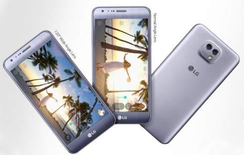 Смартфон LG X Cam оснастили камерами разрешением 13, 8 и 5 Мп