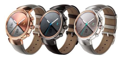 ASUS представила умные часы Zenwatch 3