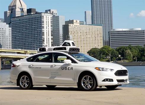Uber запустил такси савтопилотом вСША