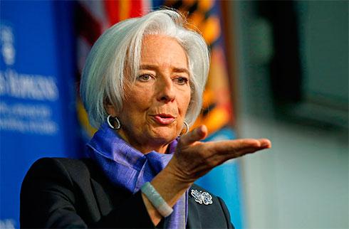 Лагард увидела признаки восстановления украинской экономики