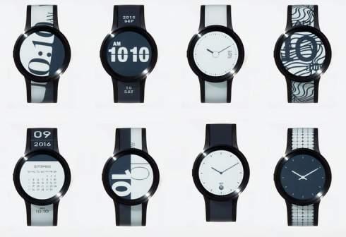 Sony FES Watch U — второе поколение часов, выполненных из электронной бумаги