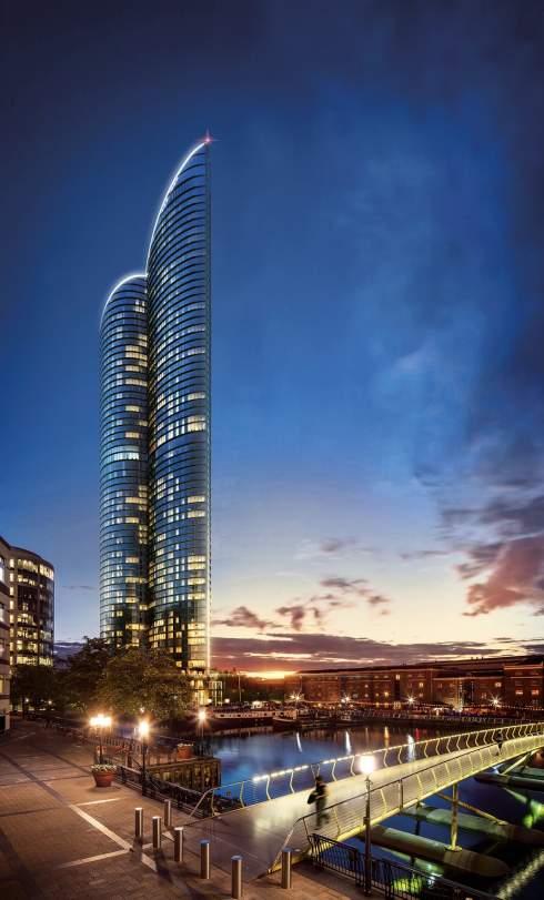 В Лондоне появится самый высокий жилой небоскреб в Европе