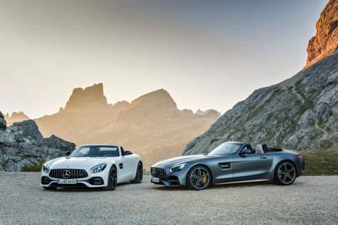 """Mercedes-Benz построил открытый """"промежуточный"""" суперкар AMG GT"""