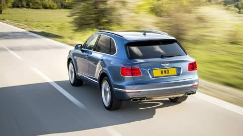 Bentley представил быстрейший в мире дизельный внедорожник