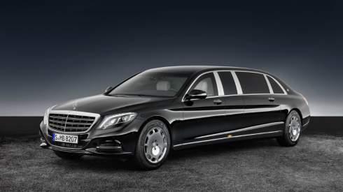 Mercedes построил бронированный лимузин Maybach