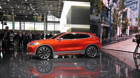 В Париже дебютировал прототип кроссовера BMW X2