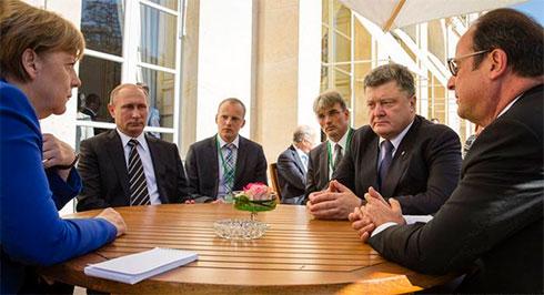 Кравчук: Путин вБерлине будет продвигать одну идею