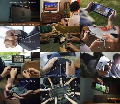 Nintendo показала приставку нового поколения под названием Switch