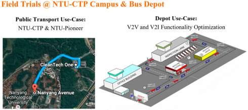 Сингапур объявил о начале тестирования беспилотных автобусов