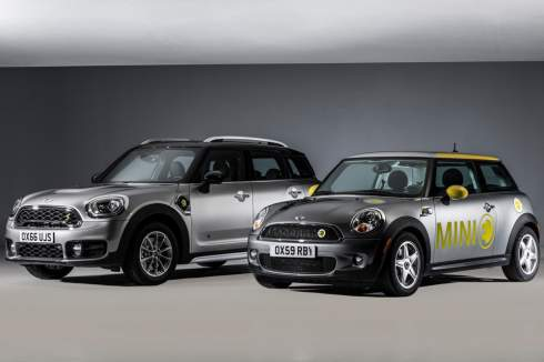 MINI Countryman стал гибридом