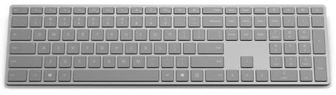 Беспроводная клавиатура Microsoft Surface Ergonomic Keyboard обшита алькантарой