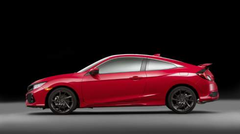 Honda показала прототип быстрейшего купе Civic