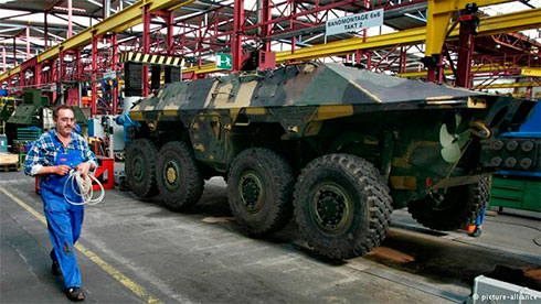 Доклад SIPRI: 9-я всписке экспортеров вооружений