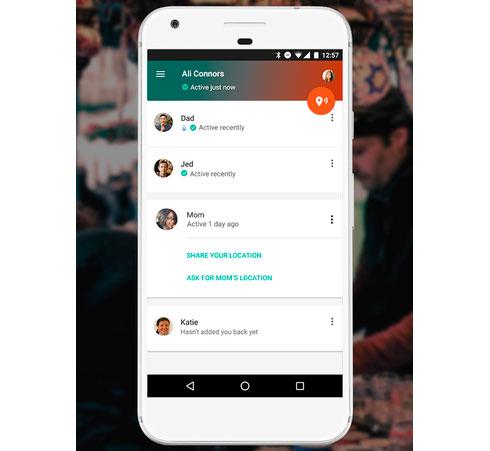 Приложение Google Trusted Contacts даст возможность близким узнать ваше положение