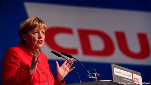 Меркель переизбрали лидером партии ХДС