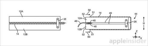 Apple запатентовала смартфон со сгибающимся в обоих направлениях дисплеем