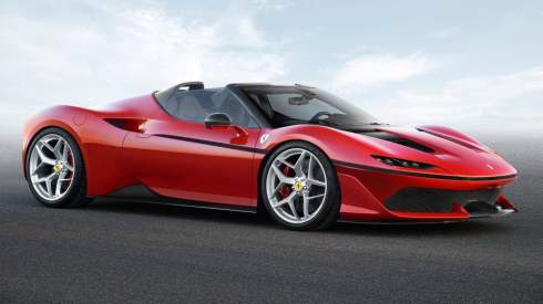 Компания Ferrari построила в честь 50-летия присутствия в Японии открытый суперкар J50