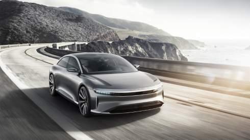 Китайско-американский стартап Lucid Motors официально представил прототип своей первой модели - 1000-сильный премиальный электрокар Air