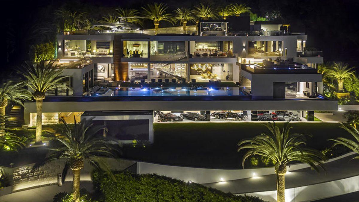 ВАмерике выставлен на реализацию самый дорогой дом вгосударстве