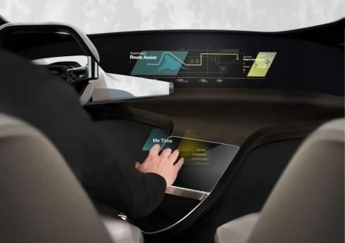 i Inside Future - автомобильный интерьер будущего от BMW