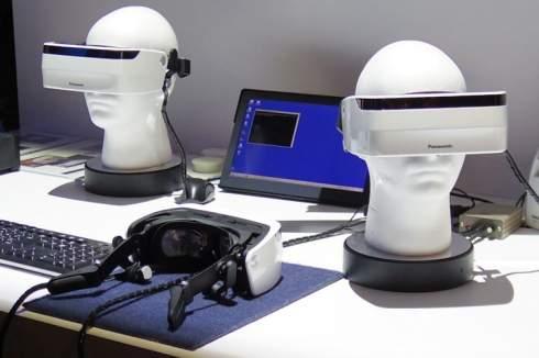 В Panasonic создан VR-шлем со сверхшироким углом обзора