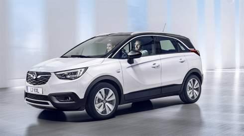 Opel заменил минивэн Meriva кроссовером Crossland X