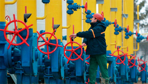 Украина уменьшила запасы газа вПХГ до8,4 млрд куб. м