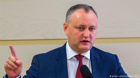 Спикер парламента Молдавии ответил наультиматум президента