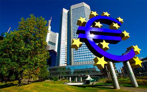 ЕЦБ увеличил прогнозы поВВП иинфляции еврозоны на2017-2018гг.