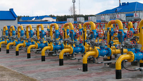 Украина прекратила отбор газа изхранилищ иначала закачку