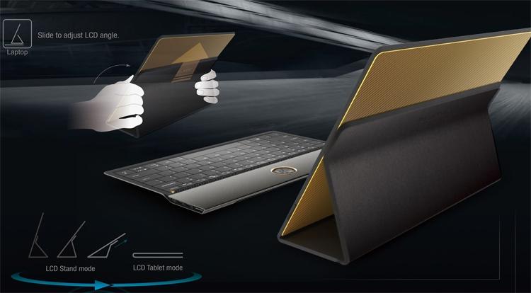 ВLenovo разработали концептуальный гибридный планшет Blade