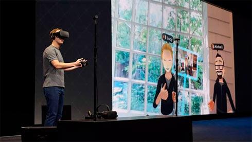 Фейсбук выпустил приложение для виртуальной реальности