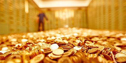 Золото по-прежнему идет вниз