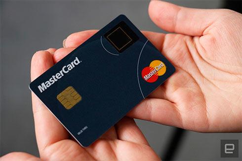 MasterCard прибавит сканер отпечатка пальцев наплатежные карты