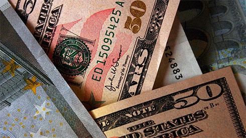 ЦБустановил курсы доллара иевро на27апреля