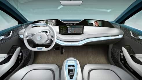 Skoda показала электрический купе-кроссовер