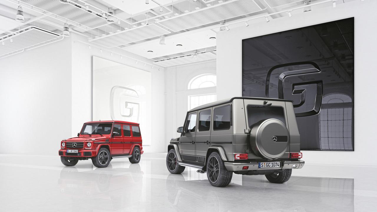 Mercedes представил две новых версии G-Class