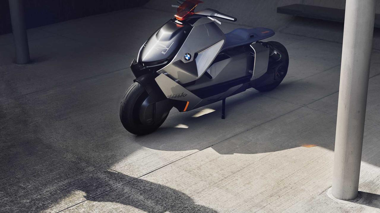 Компания БМВ презентовала мотоцикл будущего под названием Link