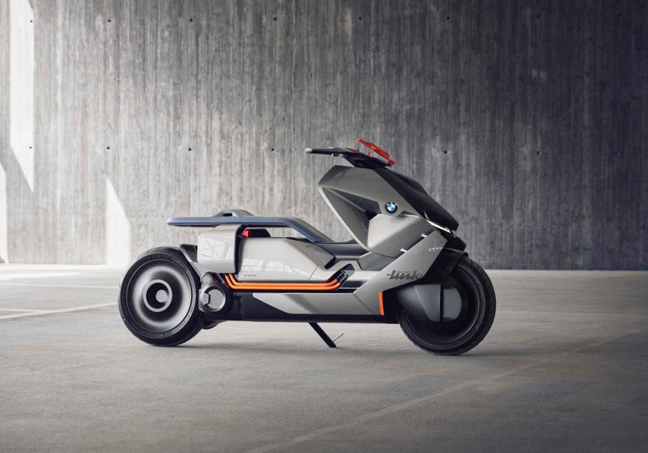 БМВ создала городской мотоцикл будущего Concept Link